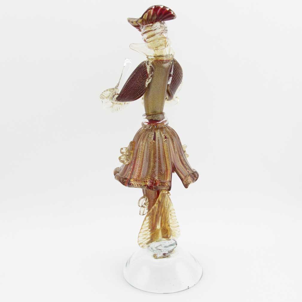 Venetian Goldonian Gentleman - Red and Gold