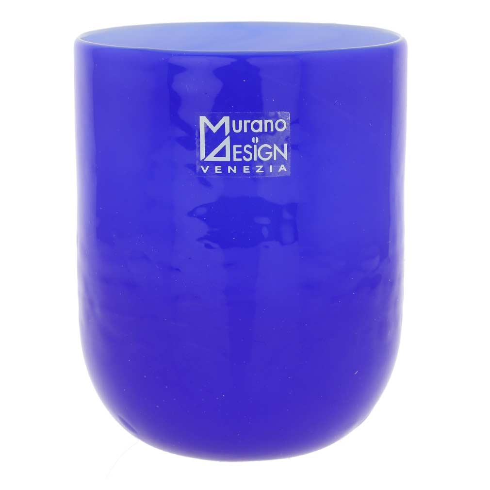 Murano Glass Luminoso Tumbler - Blue