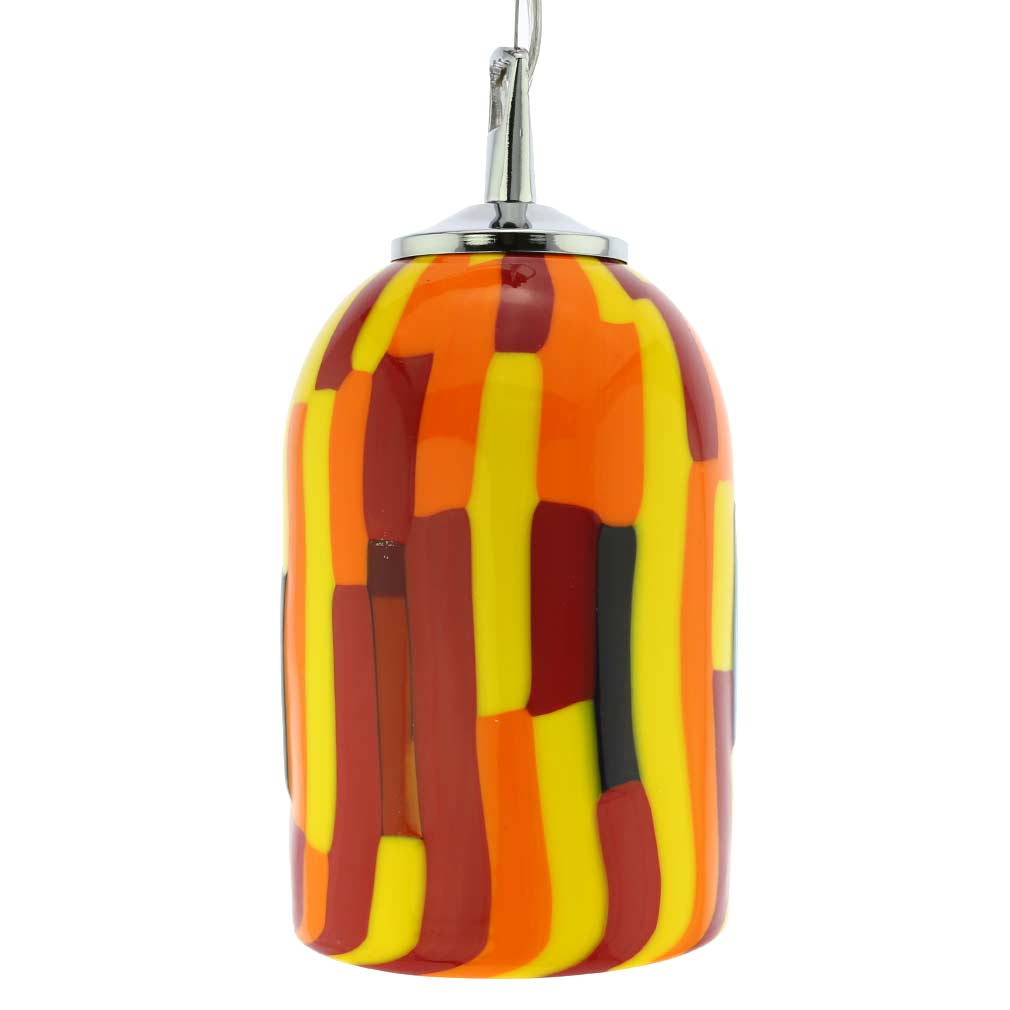 Murano Glass Pendant Light - Sunflower