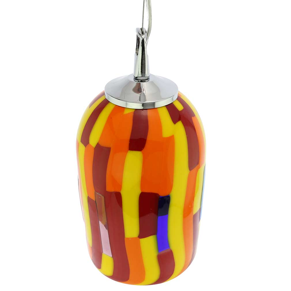 Murano Glass Pendant Light - Sunflower