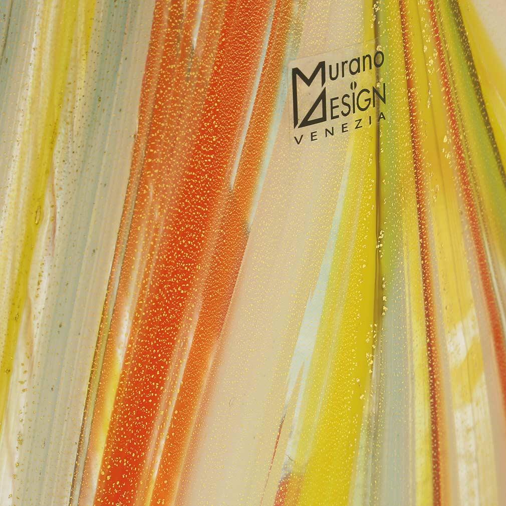 Spring Blossom Murano Vase - Multicolor