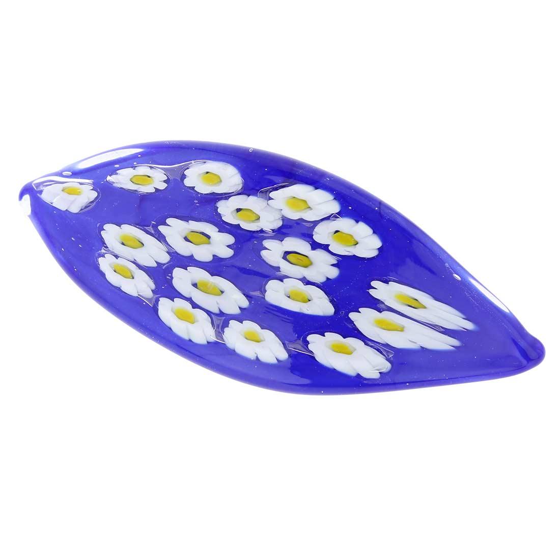 Blue Daisy Hair Clip