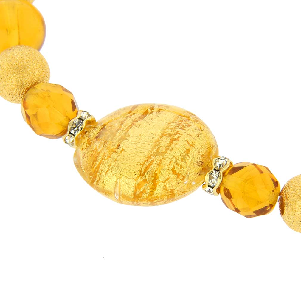 Murano Magic Bracelet - Sunshine Gold