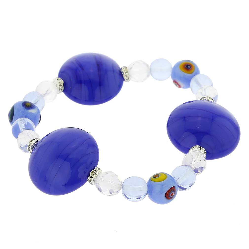 Murano Magic bracelet - mosaic sky blue