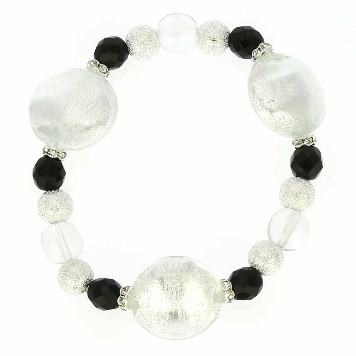 Murano Magic Bracelet - Snow and Ice
