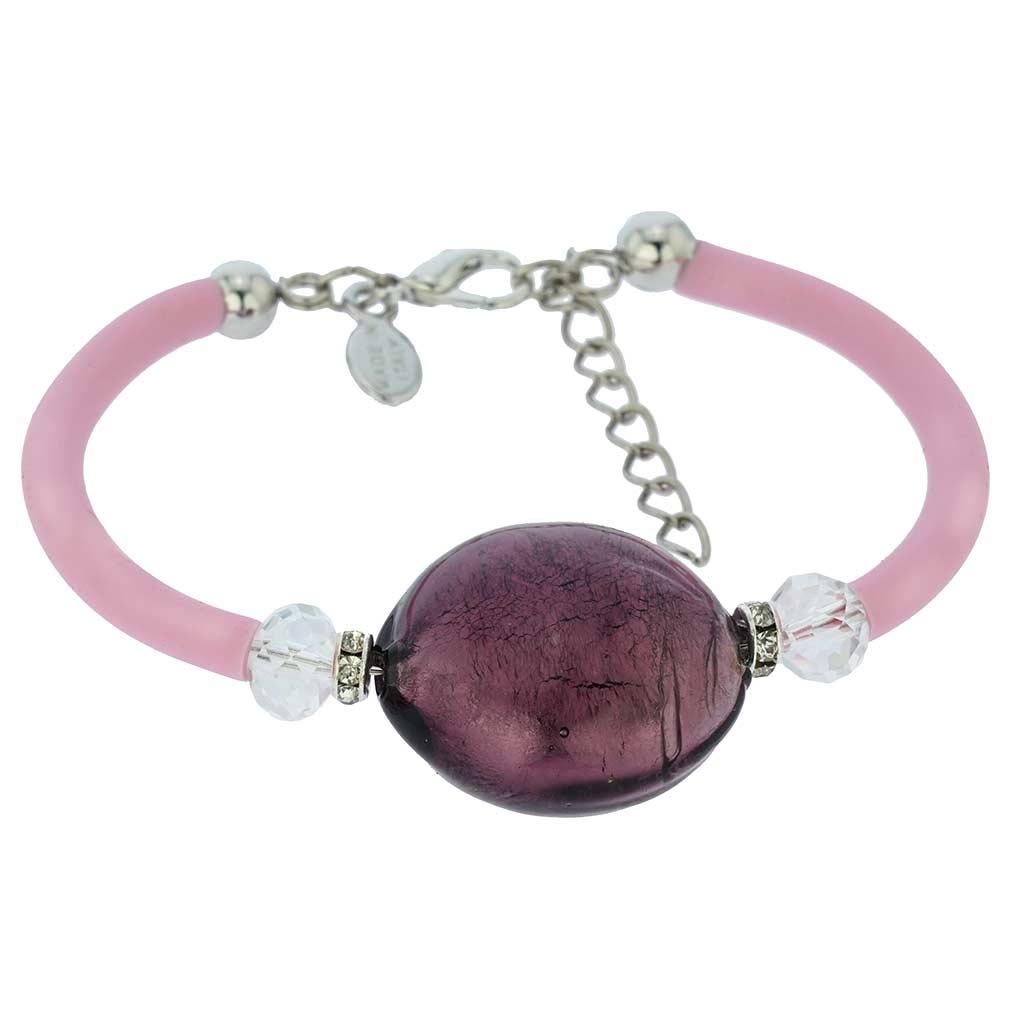 Venice Diva Bracelet - Purple
