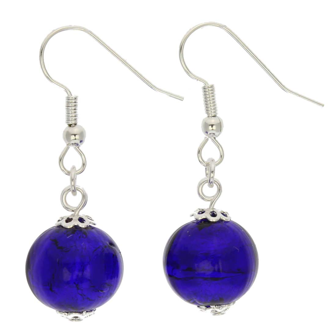 Murano Midnight Earrings