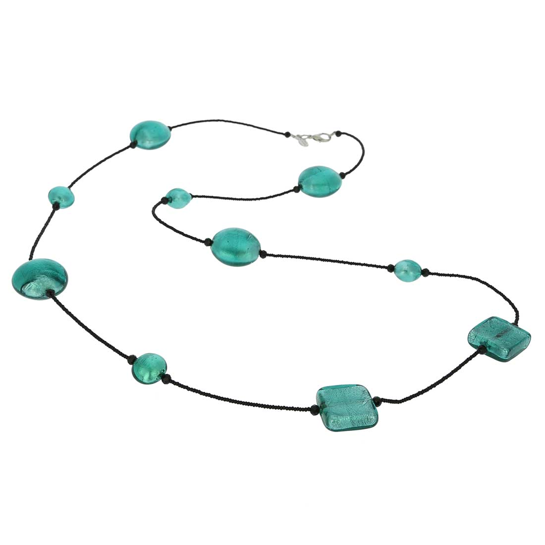 Lucia Murano Necklace - Ocean Green