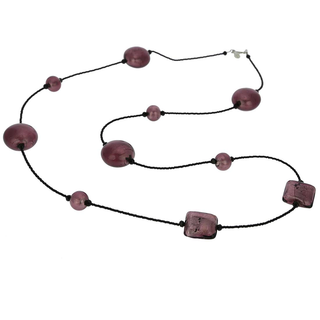 Lucia Murano Necklace - Amethyst