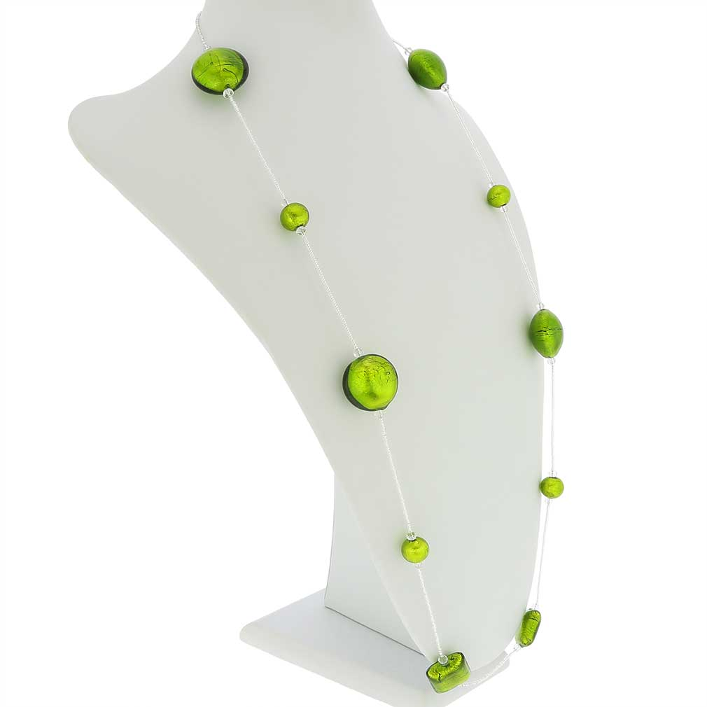 Lucia Murano Necklace - Green