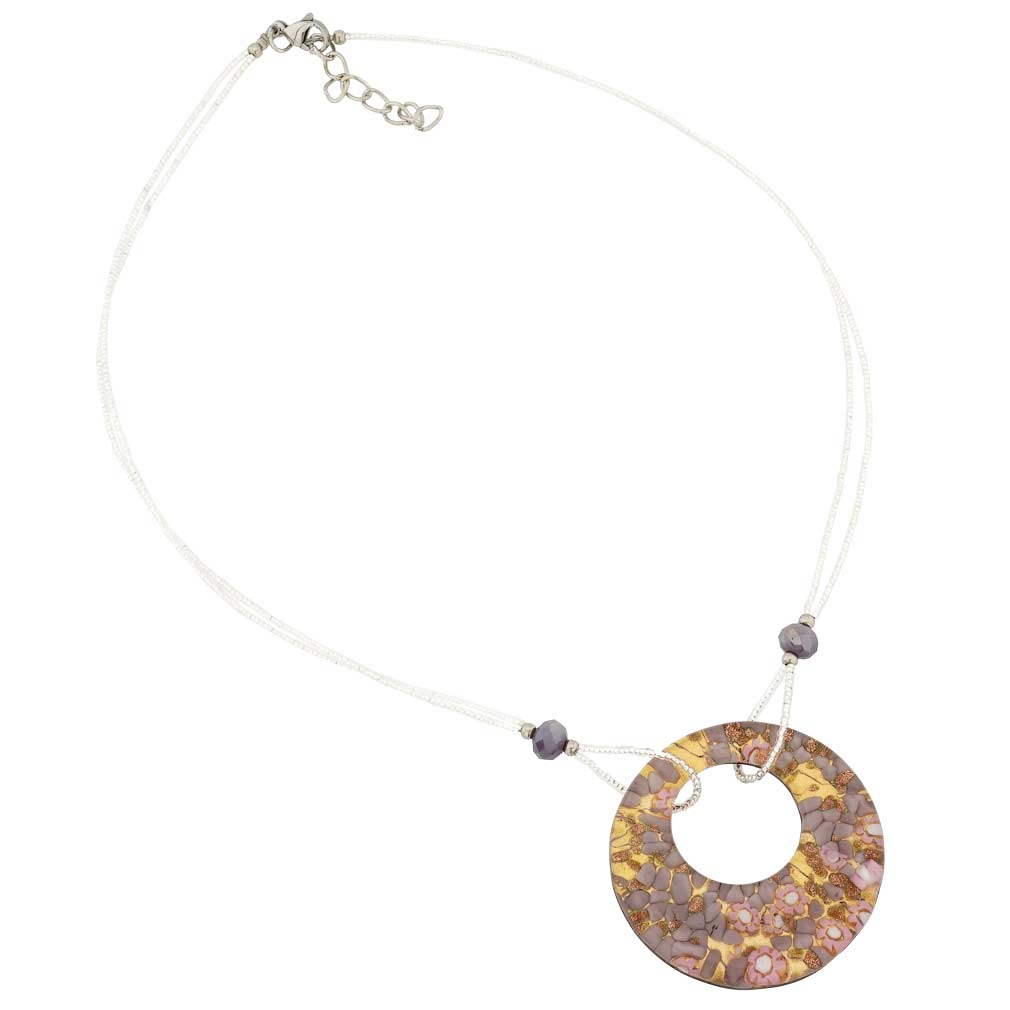 Murano Lava Necklace - Multicolor