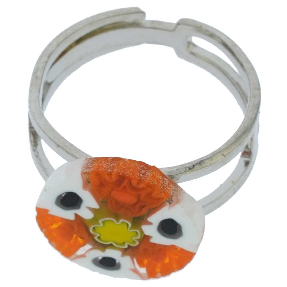 Murano Millefiori Ring