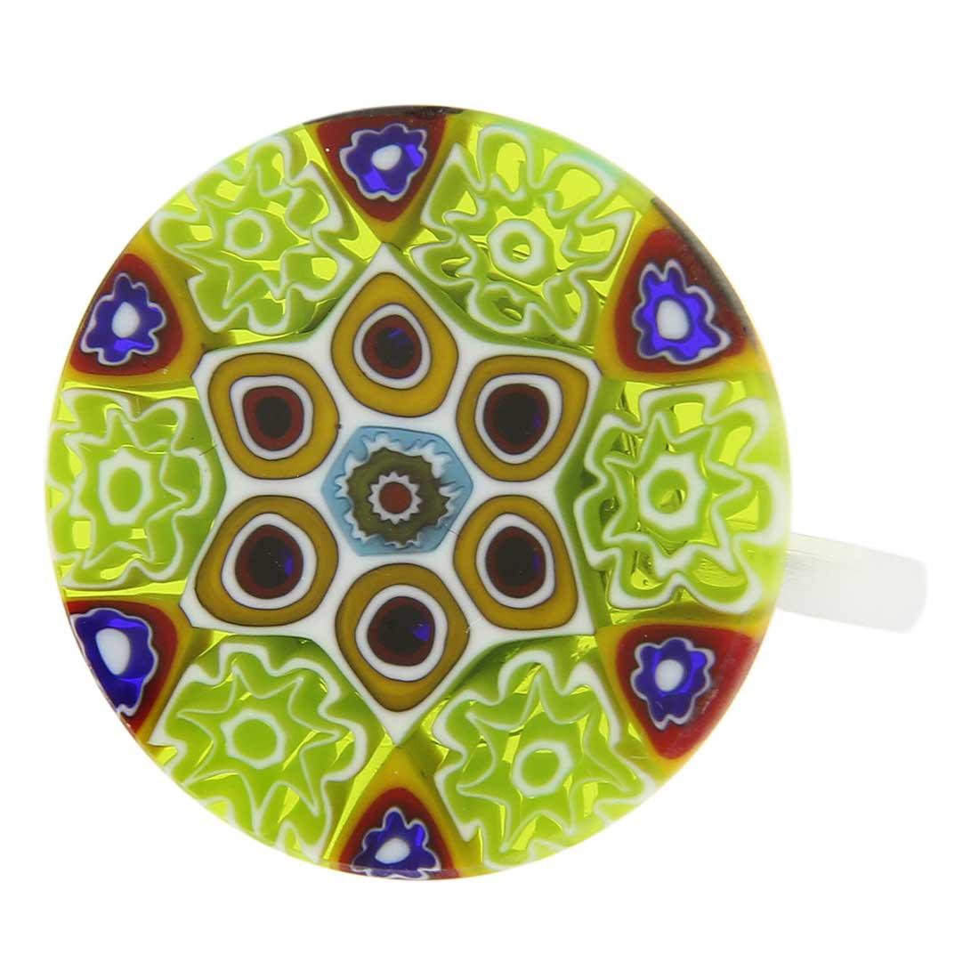 Murano Millefiori Ring #9