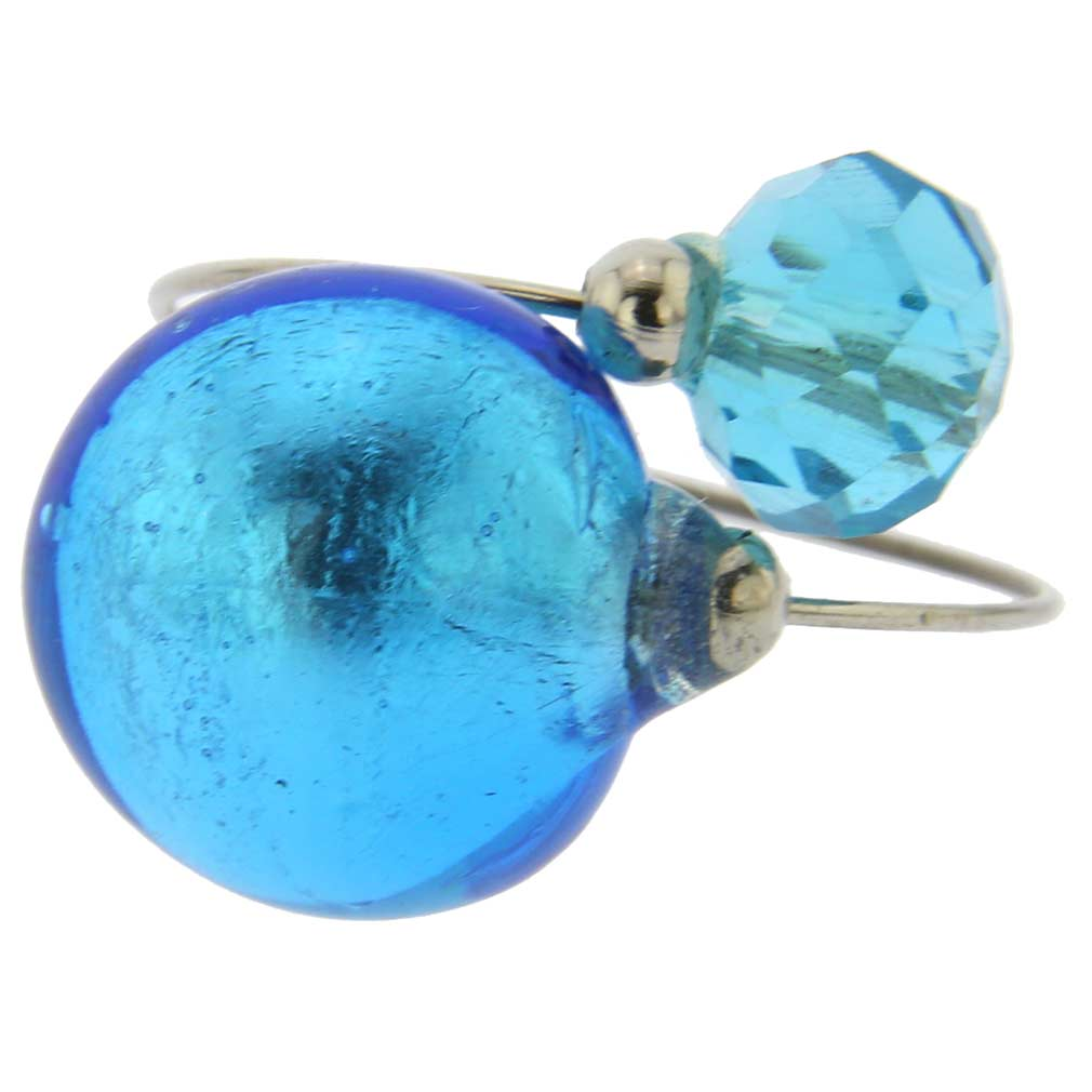 Lagoon Reflections Ring - Sky Blue