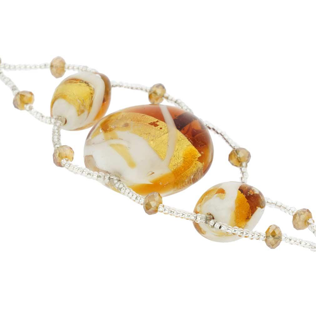 Venetian Dream Bracelet - Honey