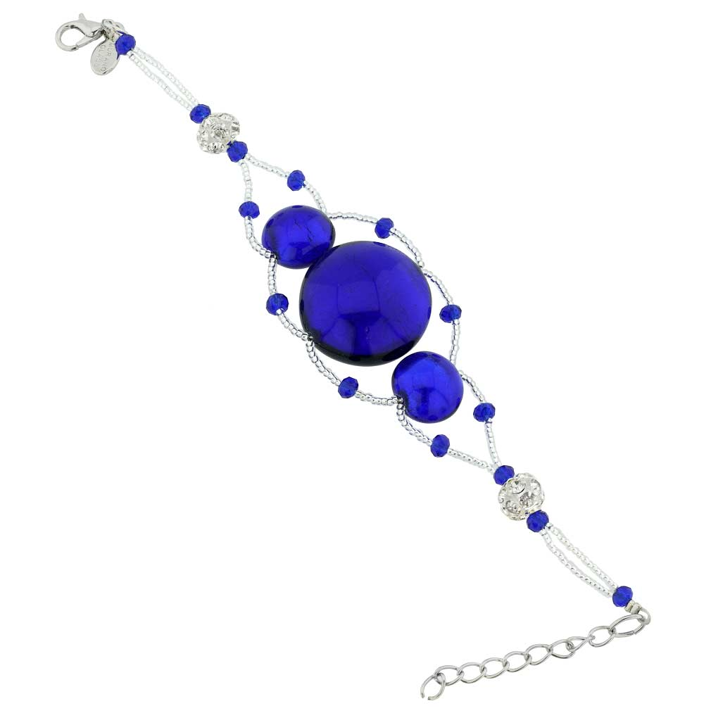 Venetian Dream Bracelet - Silver Blue