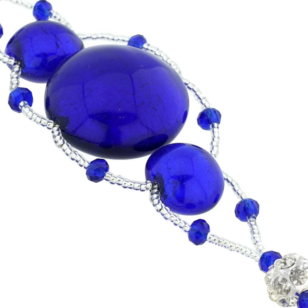 Venetian Dream Bracelet - Silver Blue