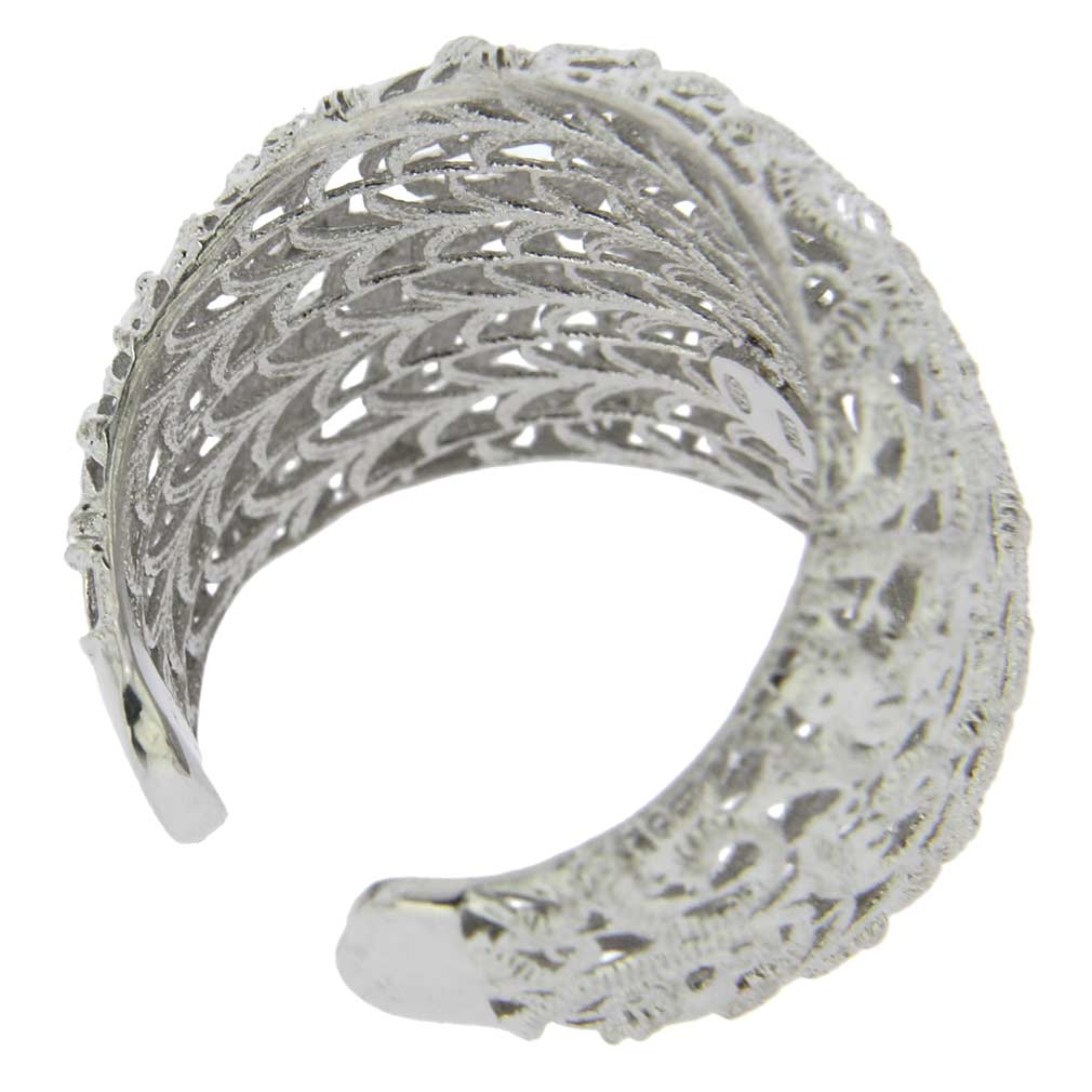 Italian Lace Sterling Silver Ring