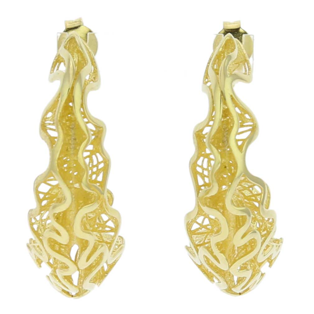 sale goldplated fisher earrings jennifer zoom butterfly gold plated