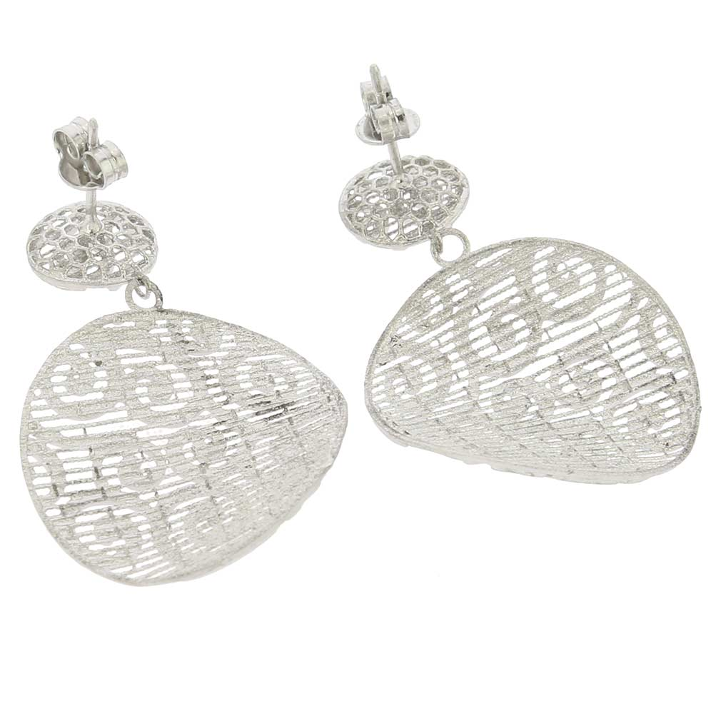 Graceful Twists Sterling Silver Earrings