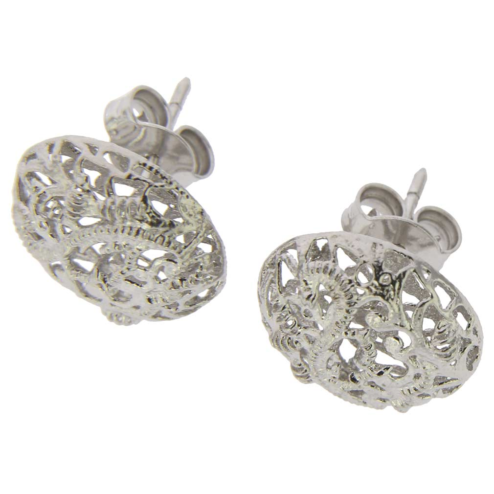 plated girls jewelry earrings silver jewellery sterling dp screwback amazon turtle rhodium ca green