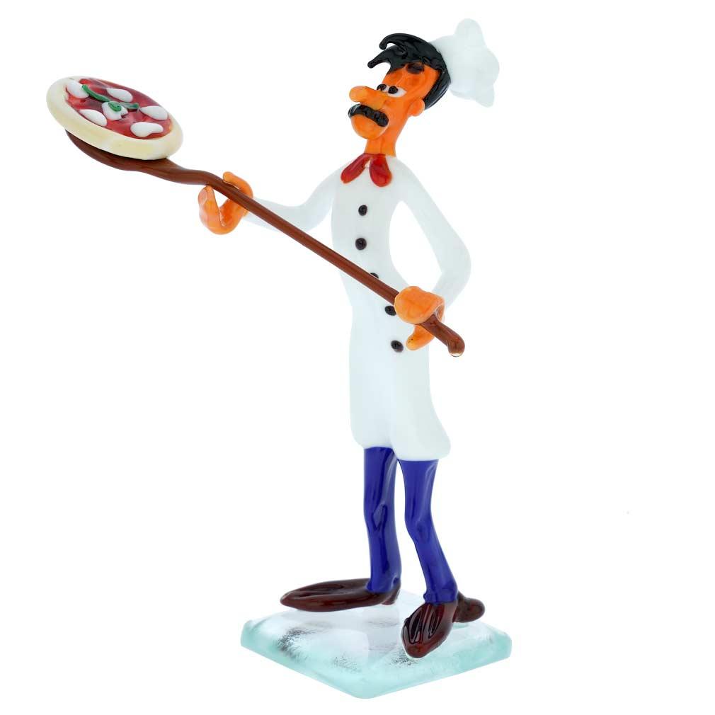 Murano Glass Pizza Chef