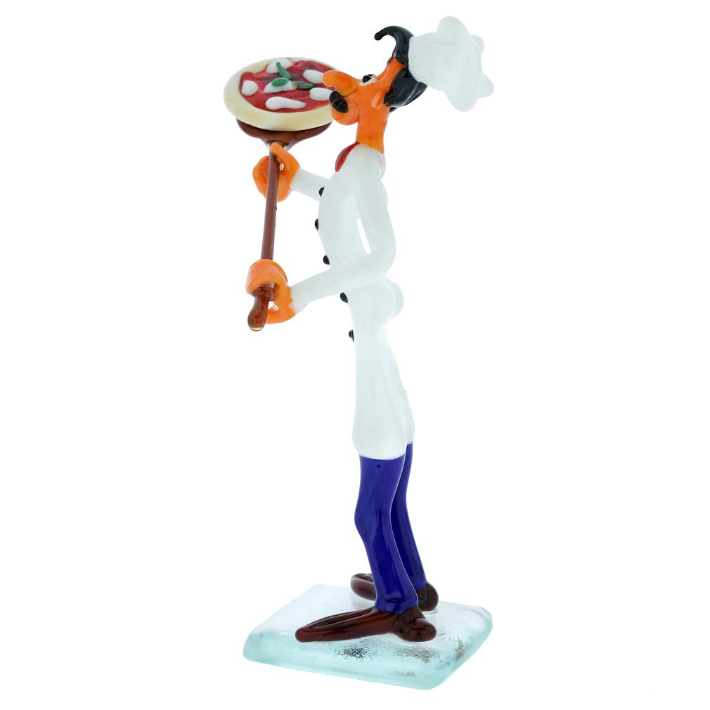 Murano Glass Pizza Chef