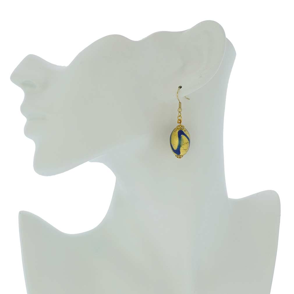 Royal Blue Capsule Earrings