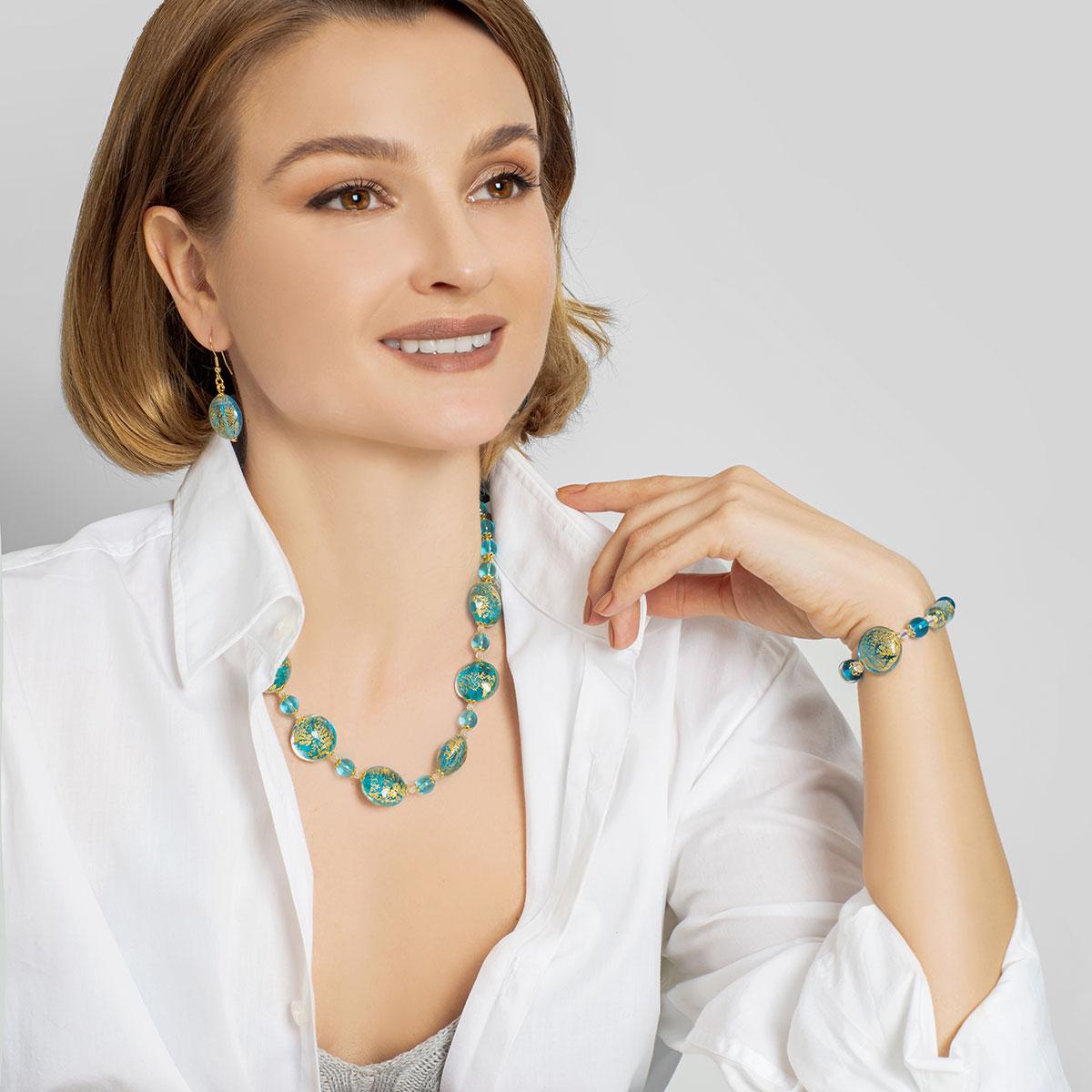 Necklace Ca D\'Oro - Aqua