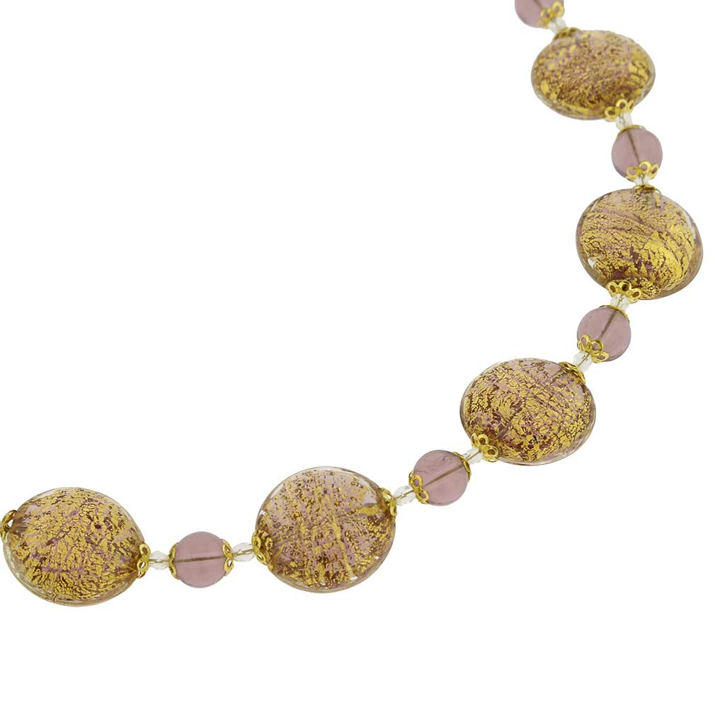 Necklace Ca D\'Oro -amethyst