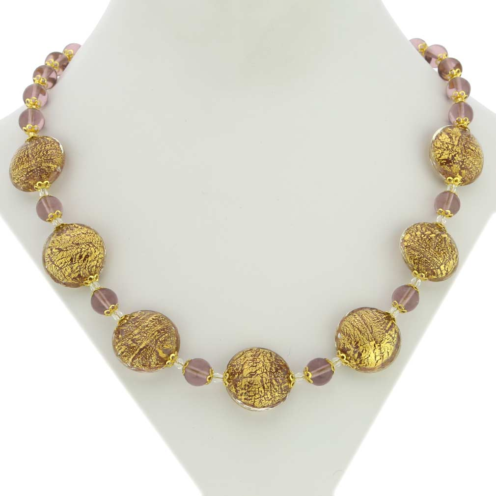 Necklace Ca D\'Oro - Amethyst
