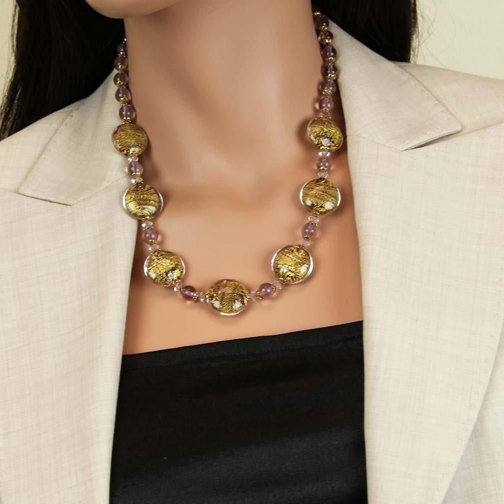 Necklace Ca D\'Oro - Purple