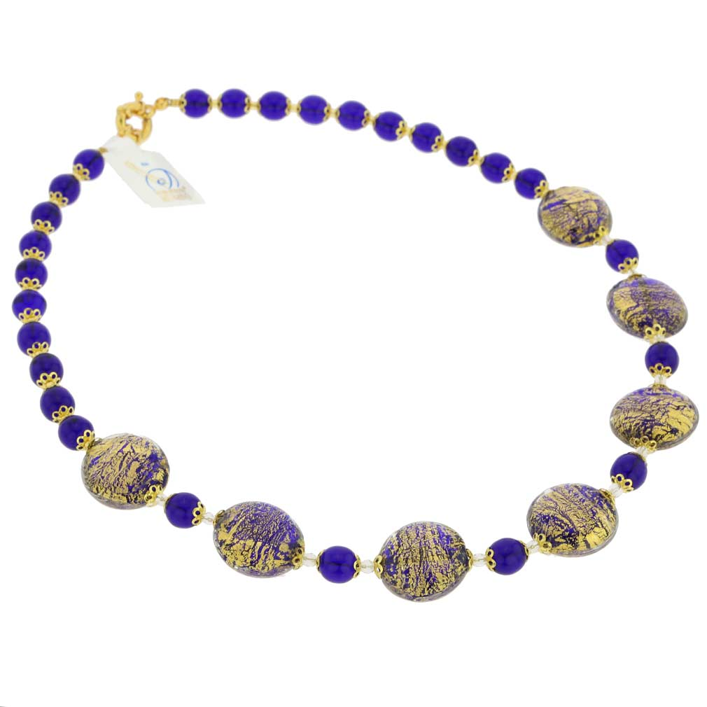 Necklace Ca D'Oro -cobalt blue