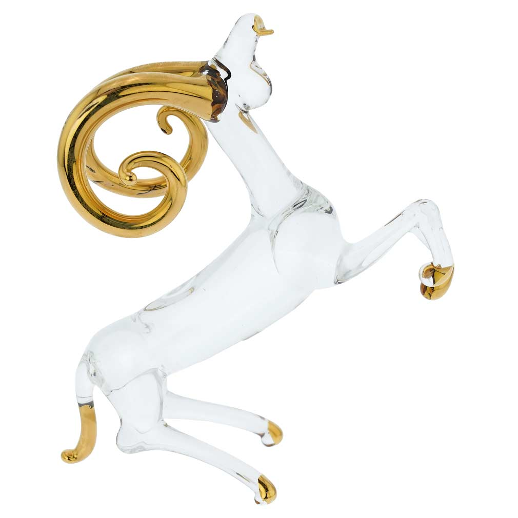 Murano Glass Zodiac Sign - Aries