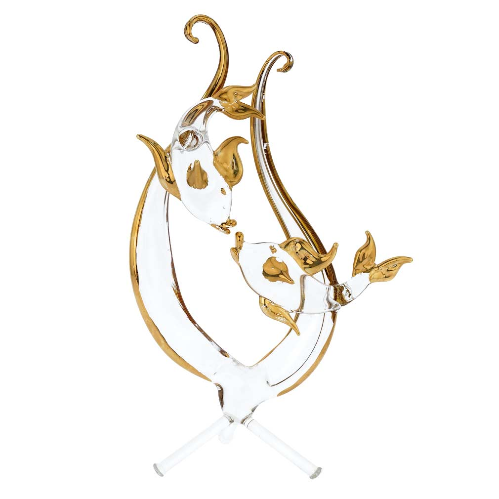 Murano Glass Zodiac Sign - Pisces