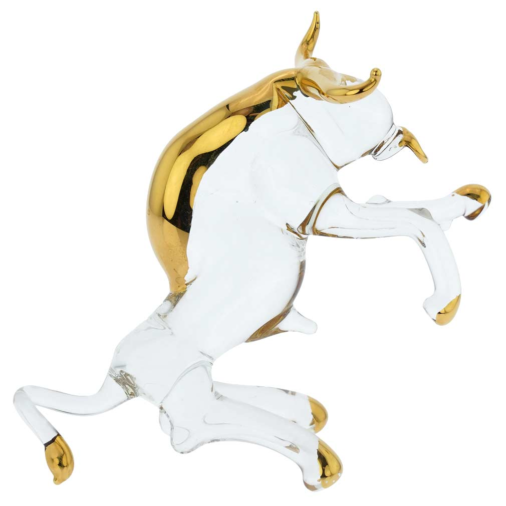 Murano Glass Zodiac Sign - Taurus