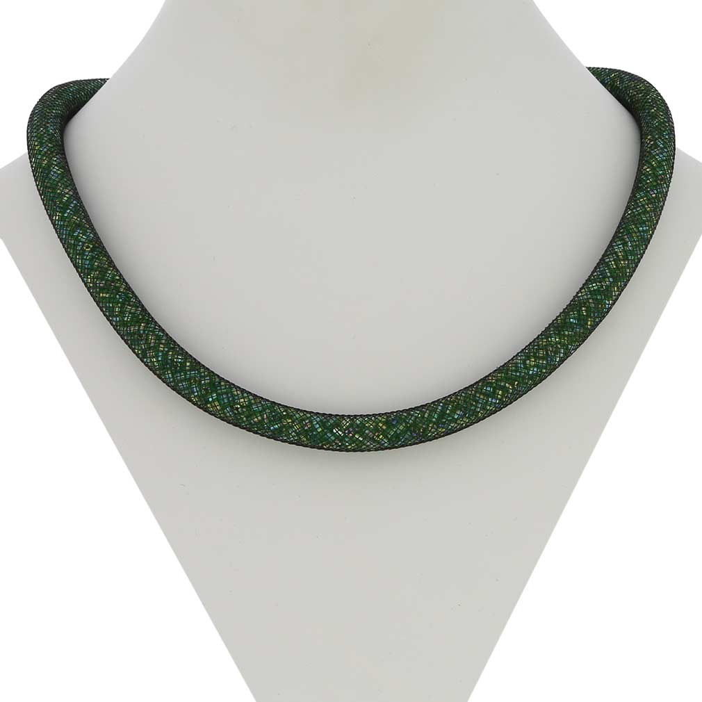 Murano Necklace Eleganza - Green