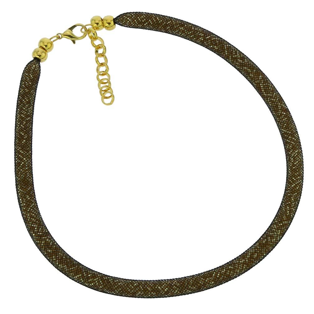 Murano Necklace Eleganza - Gold