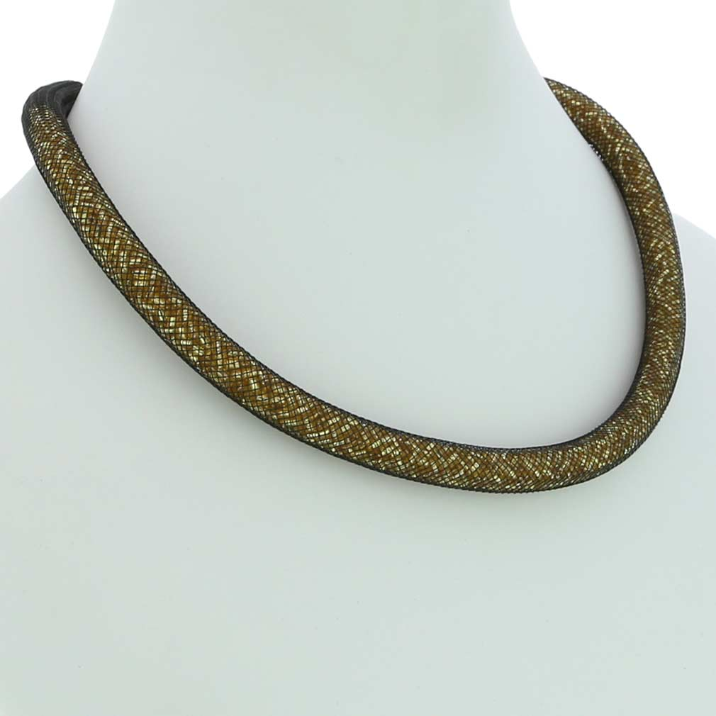 Murano Necklace Eleganza - Gold