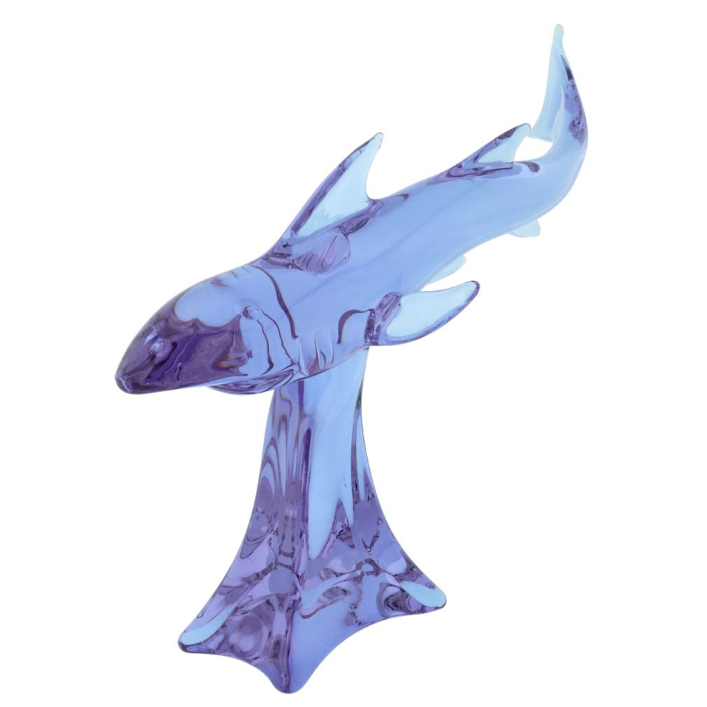 Vintage Murano Glass Birds On A Branch - Green