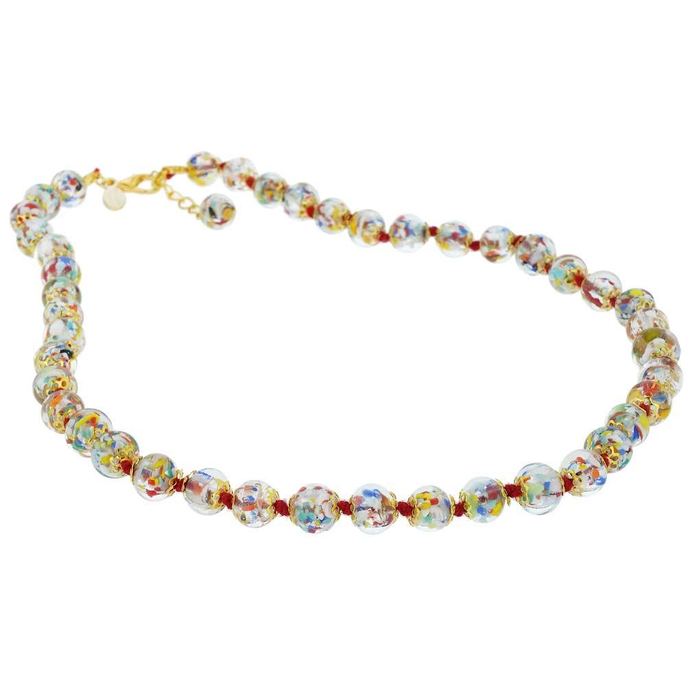 Sommerso Necklace - Multicolor Confetti