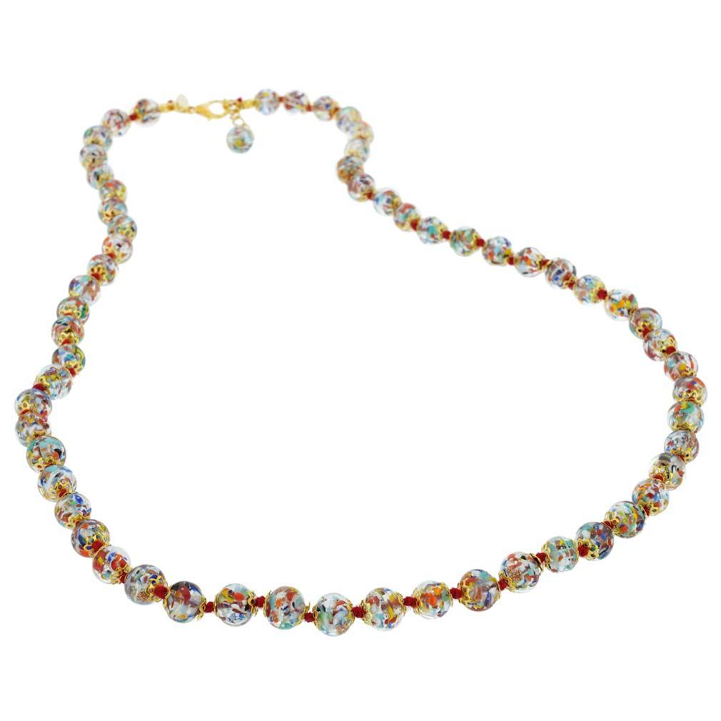 Sommerso Long Necklace - Multicolor Confetti