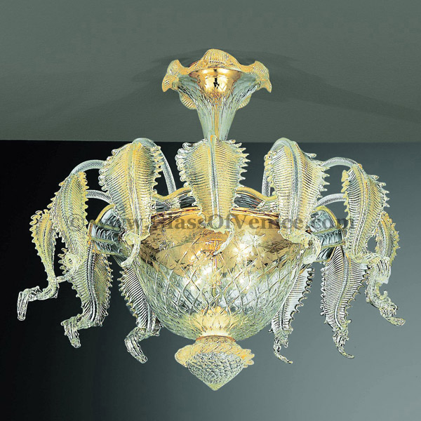 Murano Glass Sconces Canal Grande Series Ceiling Lamp 6
