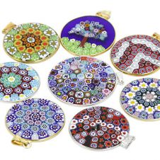 Murano glass murano glass jewelry imported from venice italy millefiori pendants aloadofball Images