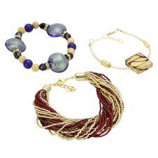 Murano Glass Bracelets