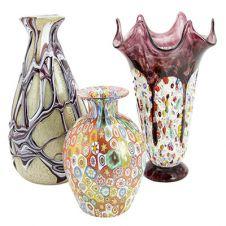 Murano Glass Vases