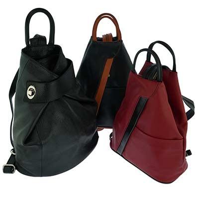 Italian Leather Backpacks