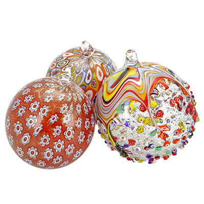 christmas tree ornaments - Blown Glass Christmas Ornaments