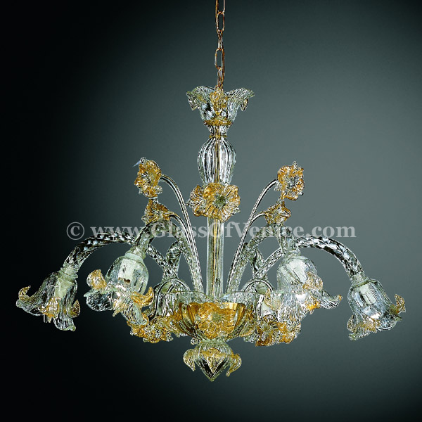 Flora series Chandelier 6 lights