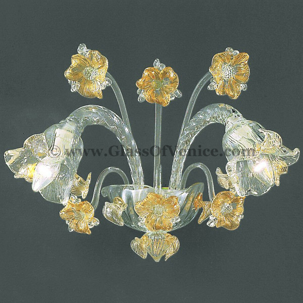 Flora series Wall sconce 2 lights